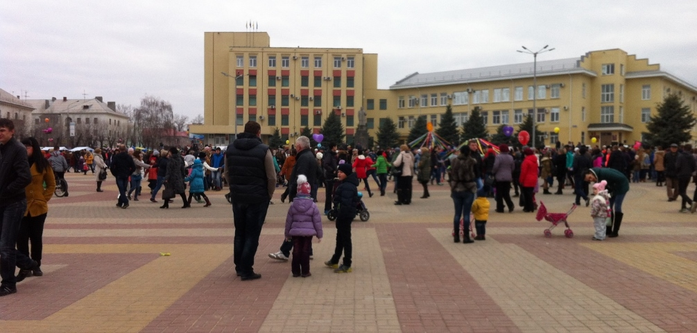 Площадь города Лиски